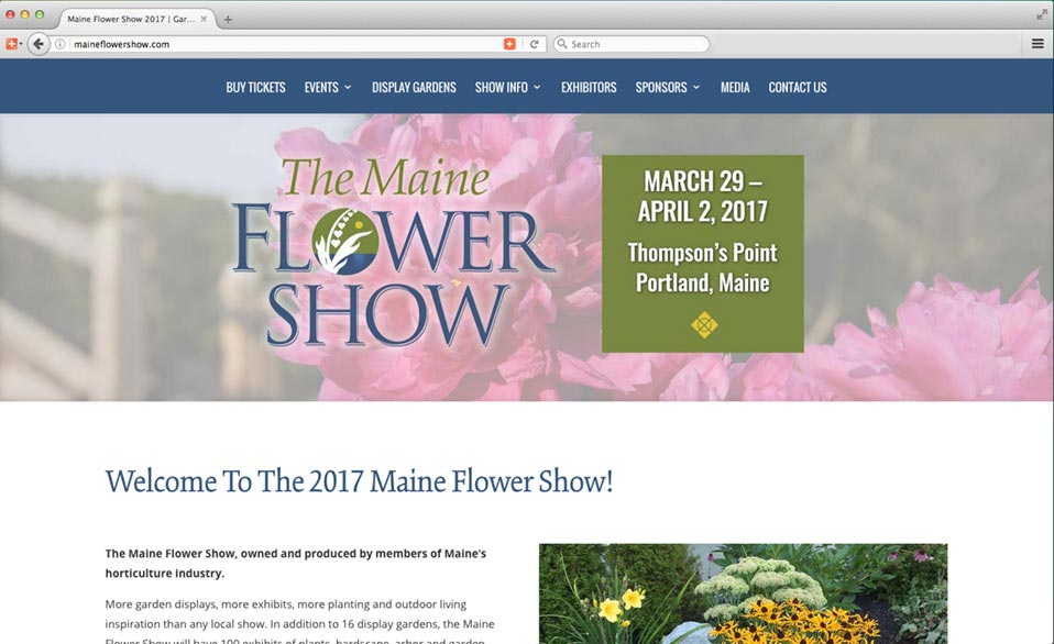 2017 Maine Flower Show